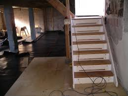 height basement subfloor systems u2014 new basement and tile