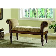benches for the bedroom upholstered bedroom benches amazon com