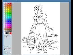 snow white coloring pages kids snow white coloring pages