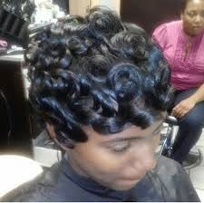 how to do pin curls on black women s hair pin up curls for short hair hairstyle for women man