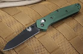 benchmade 940 osborne black plain edge blade u2013 red fox tactical