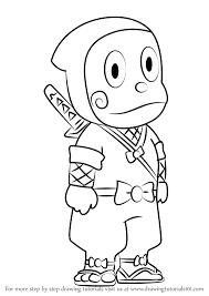 learn draw ninja hattori kun ninja hattori ninja
