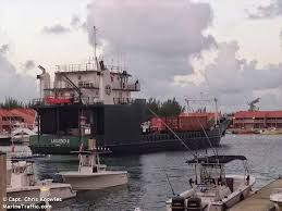 m v legend owned by bimini shipping llc serves 20 ports in