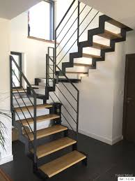 maison en bois style americaine fabrication escalier metal bois escalier moderne en bretagne