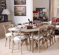 petworth weathered oak dining table oka