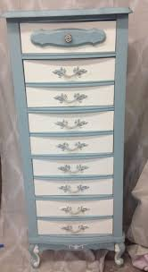 Bedroom Furniture Painted With Chalk Paint Painted Furniture French Provincial Lingerie Chest Hand Painted