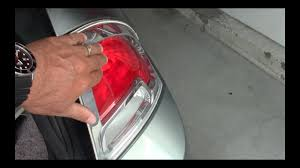 2012 ford fusion tail light bulb ford fusion rear light replacement or bulb youtube