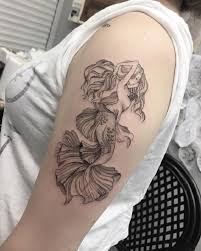 75 mermaid tattoo ideas nenuno creative
