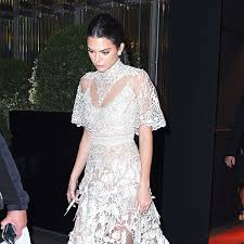 kendall jenner is obsessed with diamond chokers although she has admitted her taste changes quickly and a trend she likes on day she may not like the