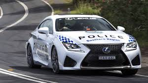 lexus truck 2009 467 hp lexus rc f joins australian police force