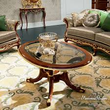 Coffee Table Glass by Classic Coffee Table Glass Marble Solid Wood Bella Vita