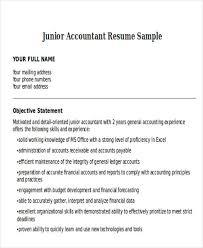 accountant resume exles 33 accountant resumes in doc free premium templates