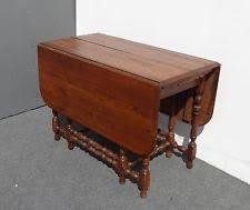 antique drop leaf dining table ebay