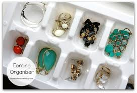 organize stud earrings 7 smart dollar store organizing solutions yesterday on tuesday
