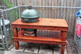 large green egg table table plans for large big green egg wood boat projects diy ideas