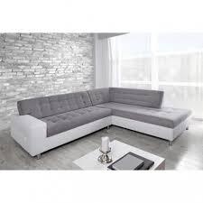 grand canapé droit grand canapé d angle droit gris blanc la maison idéale