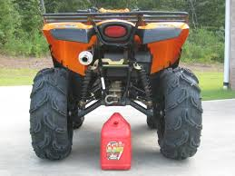 my new monster brute can am atv forum