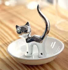 ceramic cat ring holder images Pawesome ring holders for cat lovers meowaf png