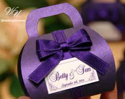 purple wedding favors purple wedding favor etsy