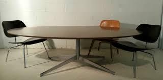 Oval Conference Table Florence Knoll Custom Oval Executive Table Modernarmada