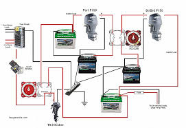 wiring diagram for dual batteries awesome 3 battery boat wiring