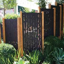 fence screens ideas backyard landscaping fence
