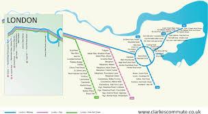 commute map commuter map clarkes commute
