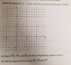 define the points p 3 1 1 2 r 1 2 s 3 5 t chegg com