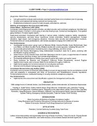 Resume Affiliations Examples by Officer Resume Example