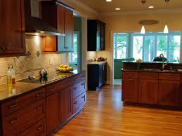 How To Strip Paint From Cabinets Staining Kitchen Cabinets Pictures Ideas U0026 Tips From Hgtv Hgtv