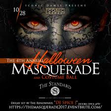 4th annual halloween masquerade presented by iconic dames llc