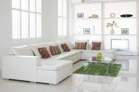 decorating ideas for a white living room with rustic coffee table