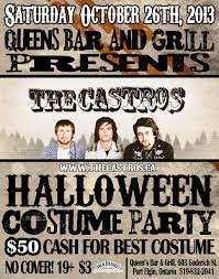 halloween costume party saturday october 26 2013 the queens bar