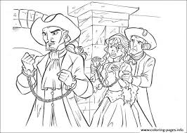 pirates caribbean coloring pages free printable