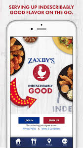 zaxby s zaxby s online ordering on the app store