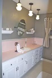 pink and brown bathroom ideas how to tone down or play up pink vintage bathroom tile vintage