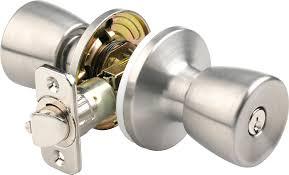 Door Handles And Locks Brinks 2710 130 Mobile Home Keyed Entry Tulip Style Door Knob