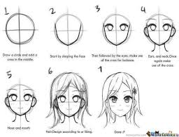 How To Draw Meme - how to draw manga step by step for beginners meme center largest