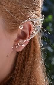 Halloween Clip On Earrings by Elf Ears Ear Cuffs By Beautycreek On Etsy 29 99 Earrings U0026 Ear