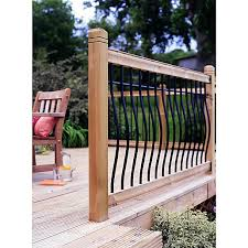 railing kits u0026 deck panels decking wickes co uk