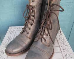 vintage womens boots size 11 bed stu etsy