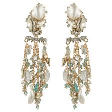 clip on chandelier earrings bittar