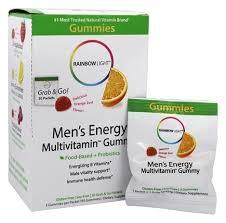 rainbow light vitamins mens buy rainbow light men s energy multivitamin gummy orange 30
