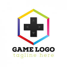 game console logo template vector free download