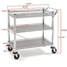 kitchen carts venture horizon kitchen cart with trash bin kitchen
