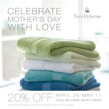 celebrate mother u0027s day with a sale on yves delorme robes and