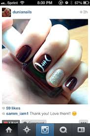 football nails i like this football nails pinterest