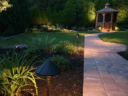 Patio Led Lights Outdoor Magnificent Garden Lighting Design Low Voltage Exterior
