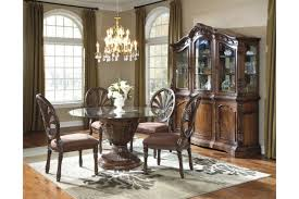 round formal dining room table with rataki info