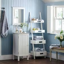 Ladder Shelf For Bathroom Bathroom Ladder Towel Rackuse A Vintage Ladder As A Towel Rack And